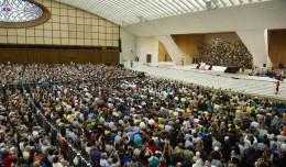Audiência Privada com o Papa Francisco, em Roma, na Itália.